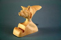 Red Fox Bust Card Holder