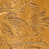 Chip Carved Plate Detail